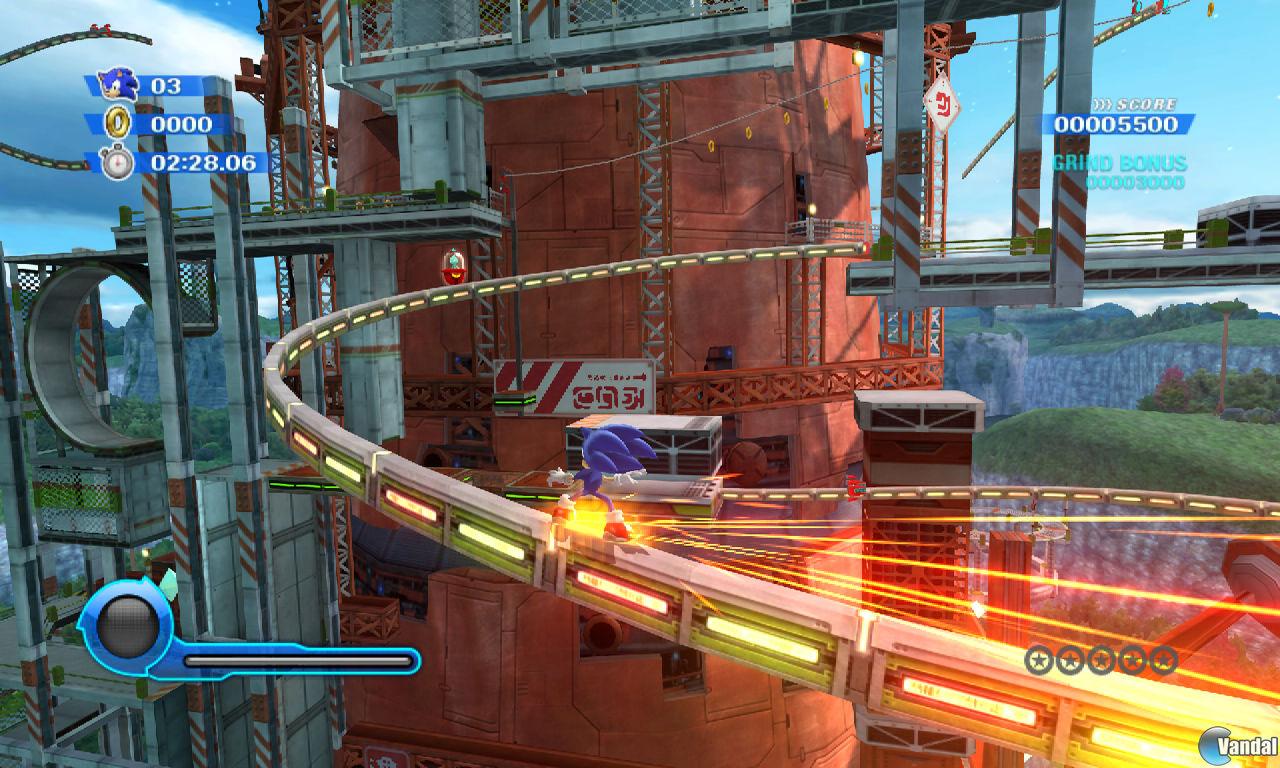 GC: Nuevas im�genes de Sonic Colours