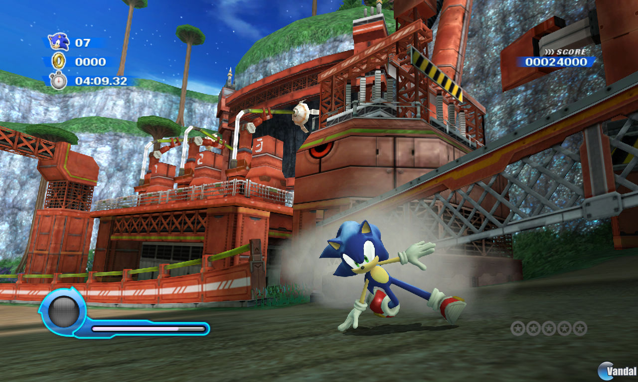 GC: Nuevas imgenes de Sonic Colours
