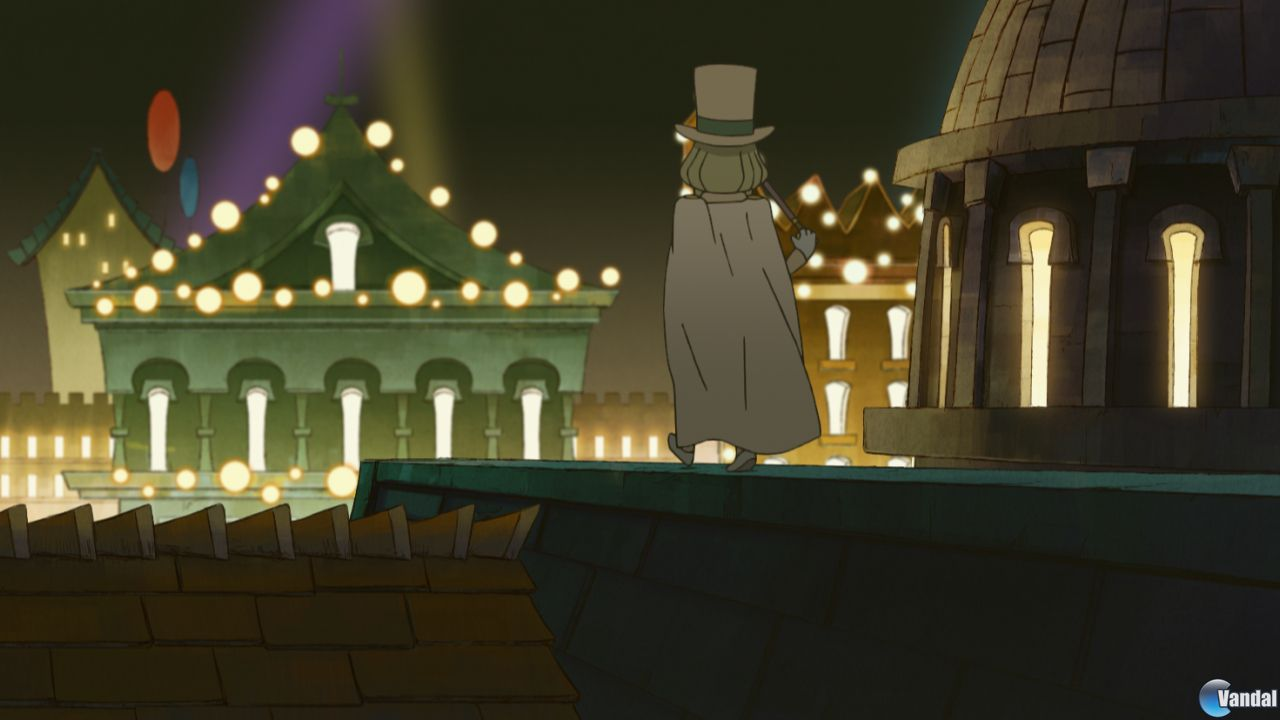 Nuevas imgenes de El profesor Layton y la mscara de los prodigios