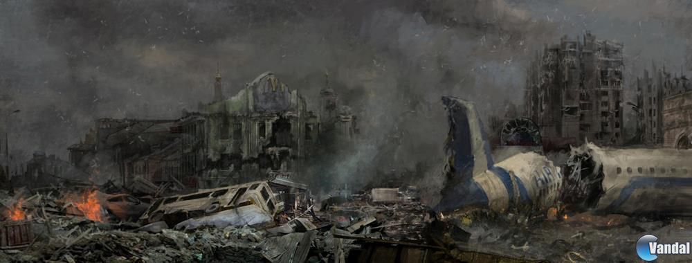 Desveladas nuevas ilustraciones de Metro: Last Light