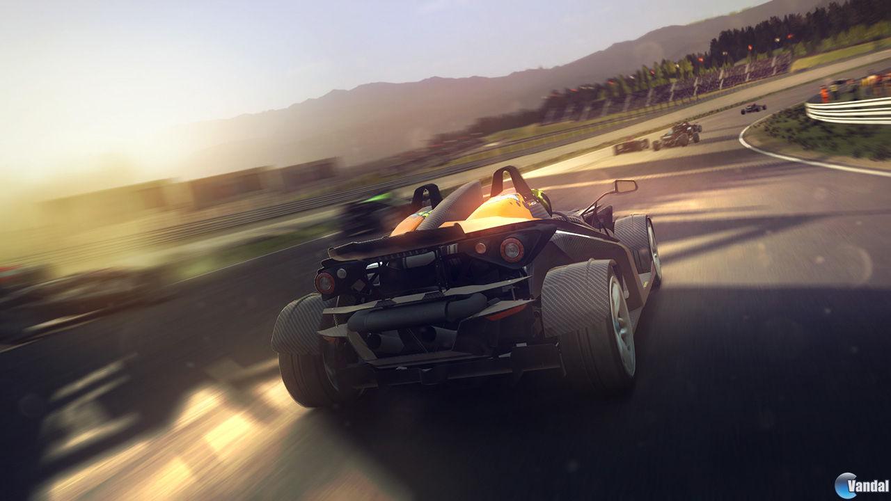 Primer vídeo de la jugabilidad e imágenes de GRID 2