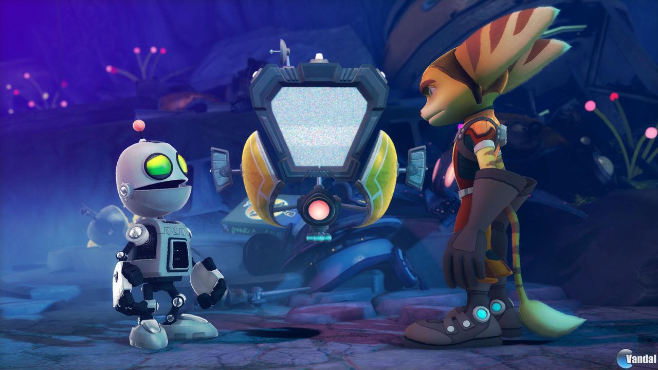 Nuevas im�genes y v�deo de Ratchet and Clank: All 4 One