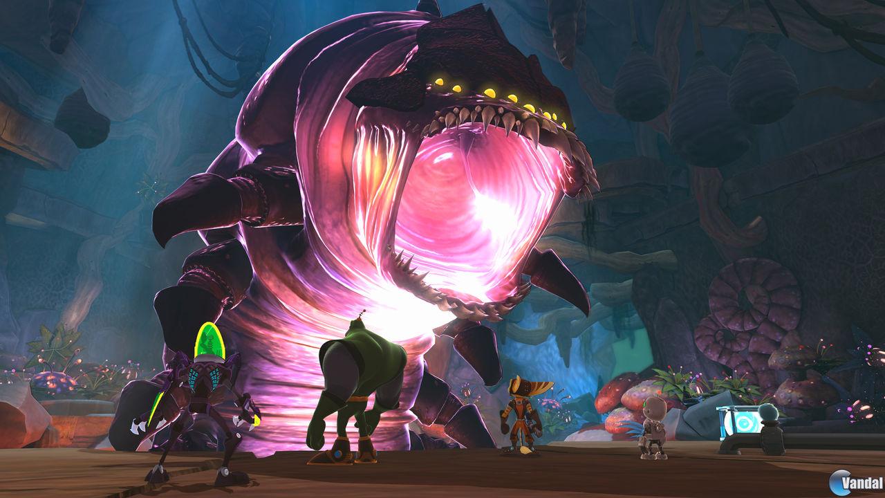 Nuevas imágenes y vídeo de Ratchet and Clank: All 4 One