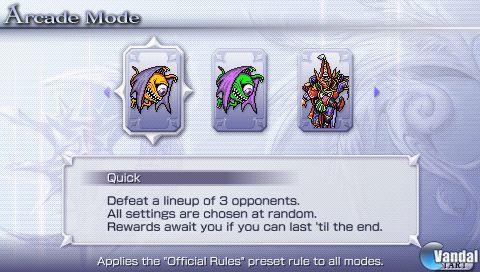 Nuevas im�genes de Dissidia 012 Final Fantasy