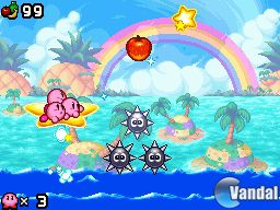 Nuevas imgenes de Kirby Mass Attack