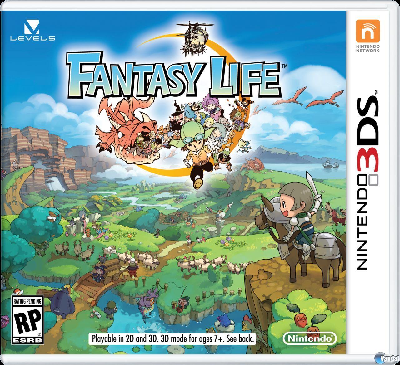 -- Fantasy Life -- Rol y simulador de vida desenfadado de Leval 5 - En Europa el 26 de septiembre Fantasy-life-2014611134457_12