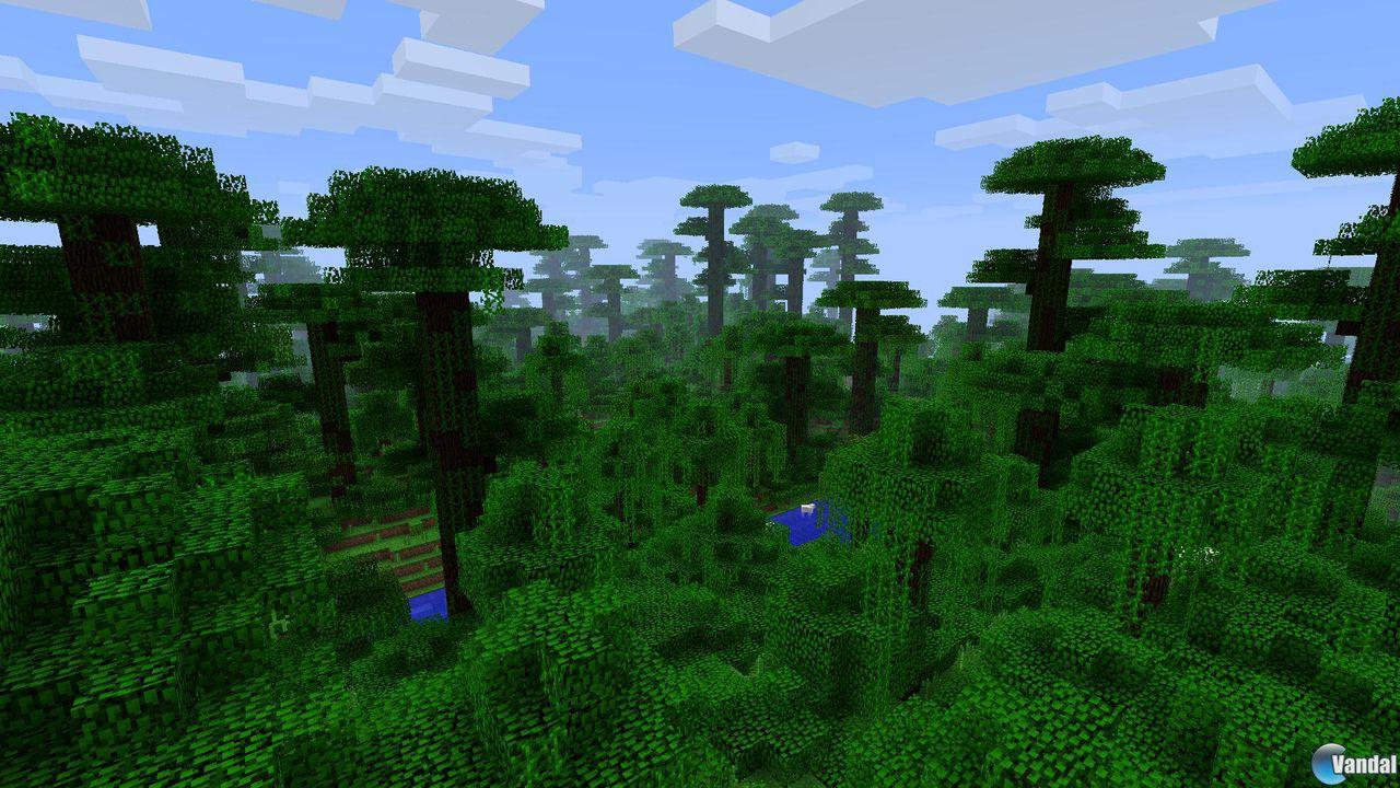 La jungla de cubos llegará a Minecraft