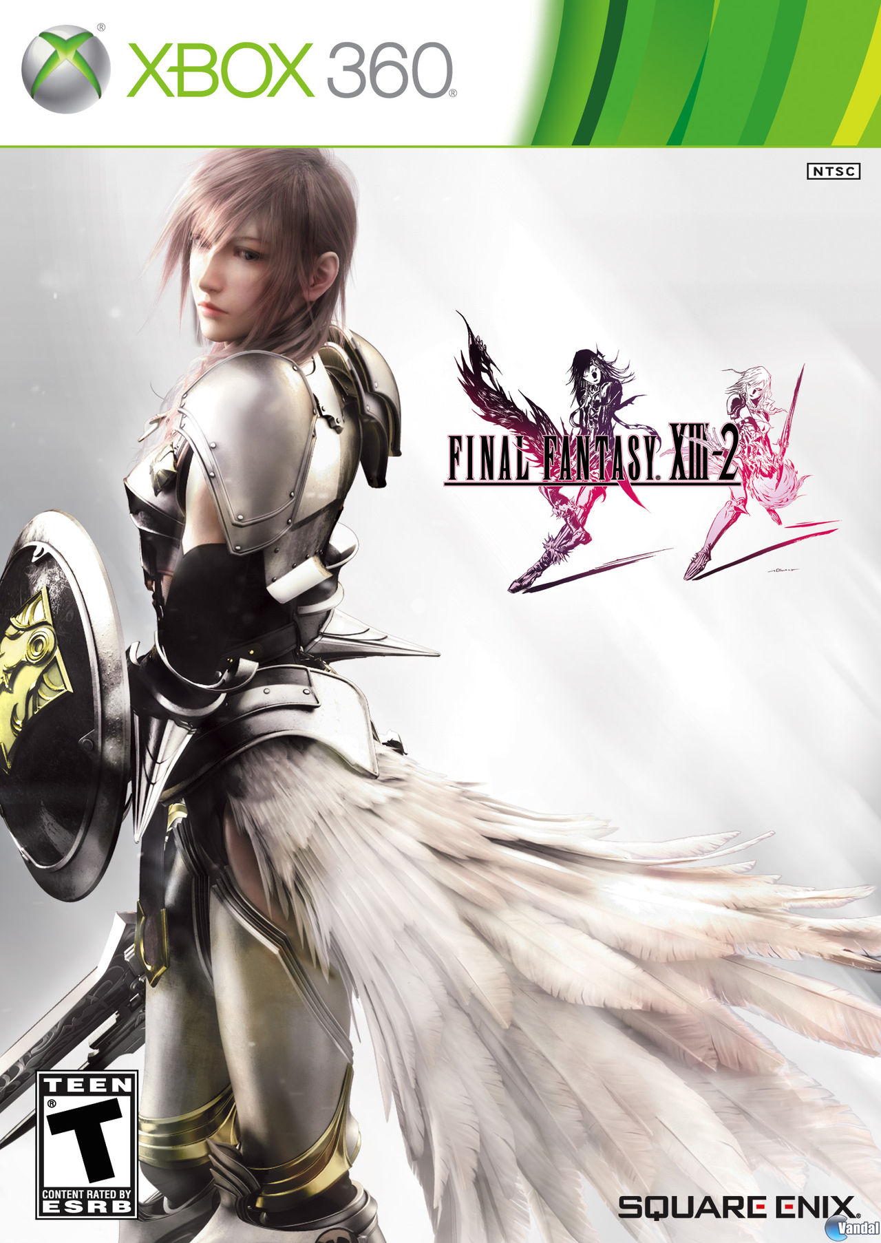 Lightning protagonizar la portada de Final Fantasy XIII-2