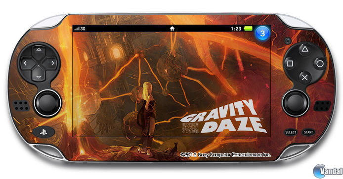 Decora tu PS Vita con ilustraciones de Gravity Rush