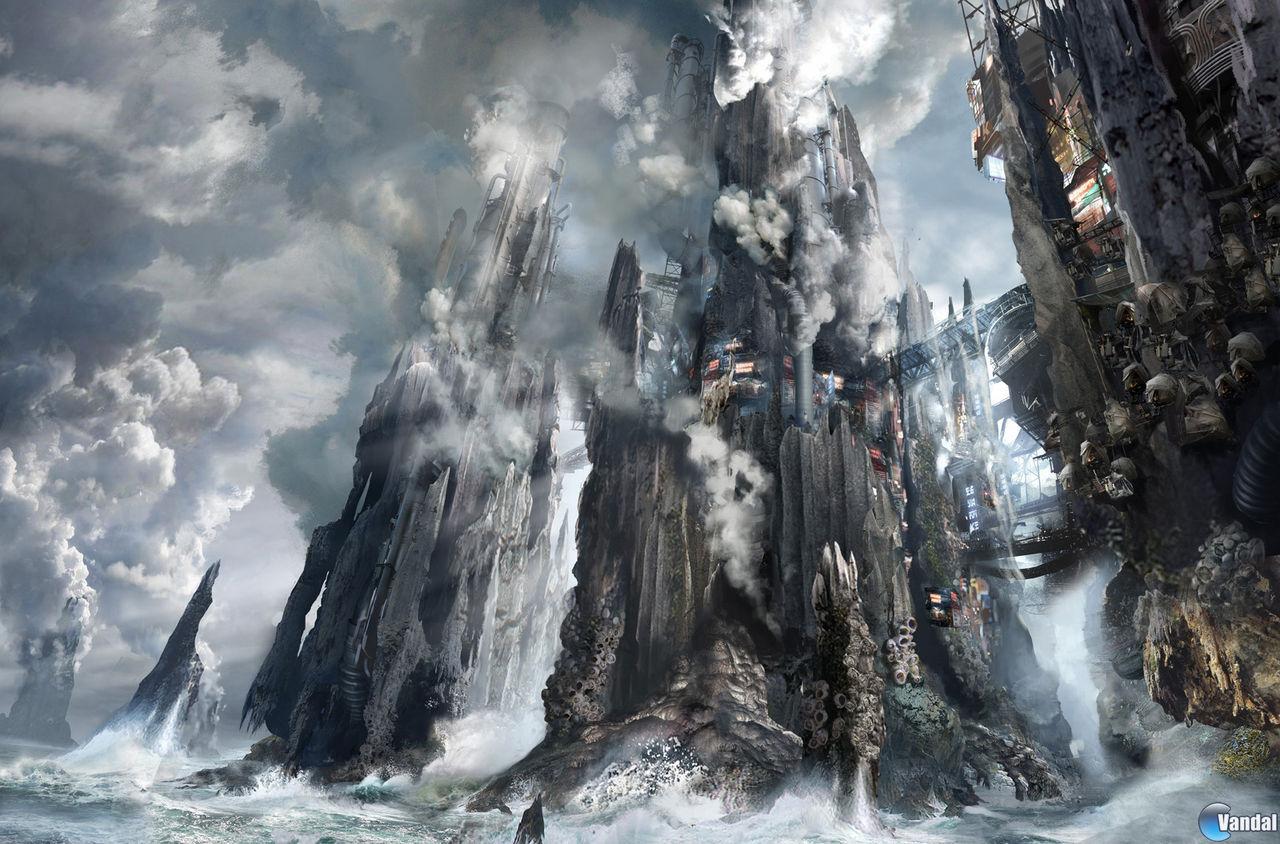 Nuevas ilustraciones de Killzone Mercenary