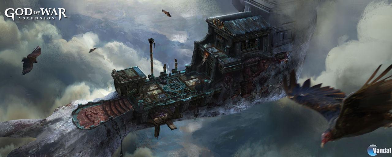 Nuevas ilustraciones de God of War: Ascension