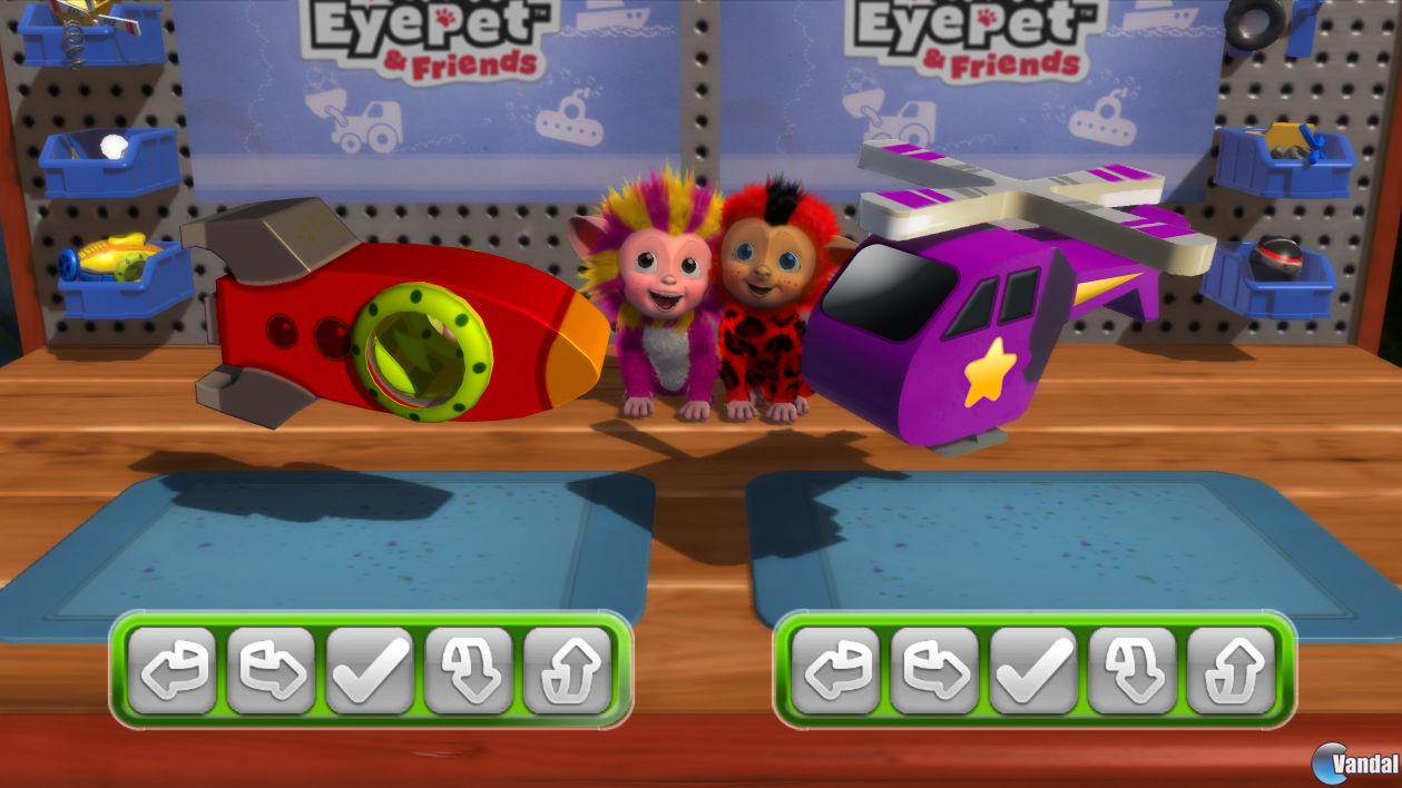 Nuevas imágenes y vídeo de EyePet & Friends