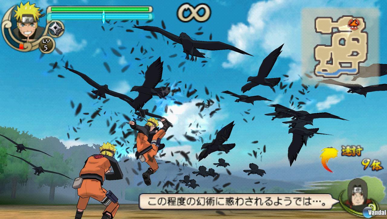 Nuevas capturas de: Naruto Shippuden: Ultimate Ninja Impact