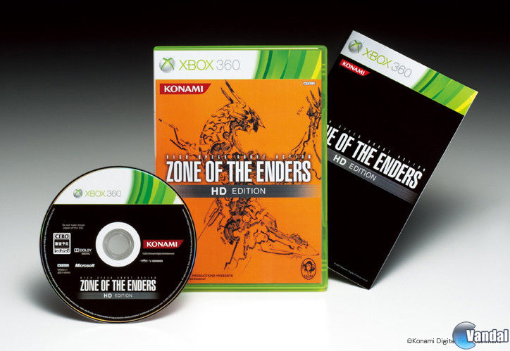 Nuevas im�genes de Zone of the Enders HD Collection