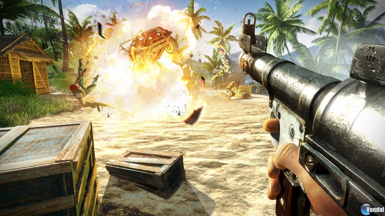 Far Cry 3 se deja ver en nuevas im�genes