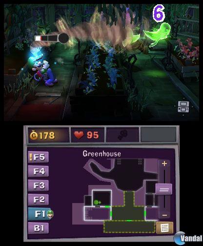 Luigi's Mansion: Dark Moon se deja ver en nuevas im�genes