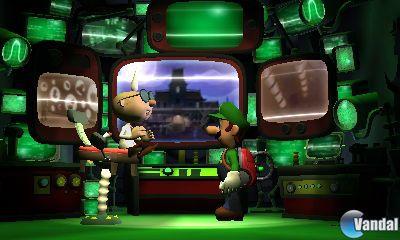 Avalancha de im�genes de Luigi's Mansion 2