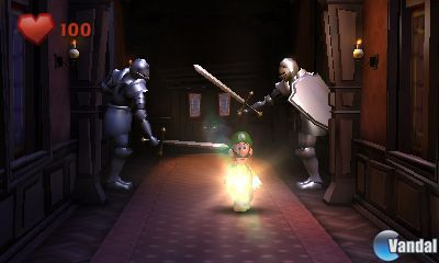 Avalancha de imágenes de Luigi's Mansion 2
