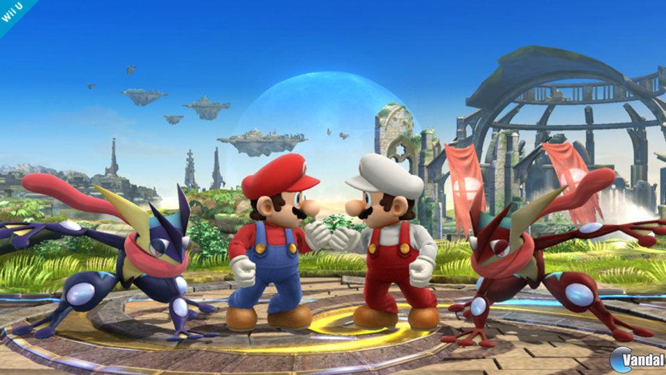 Los personajes de Super Smash Bros. mantendrán la posición sin importar hacia qué lado miran