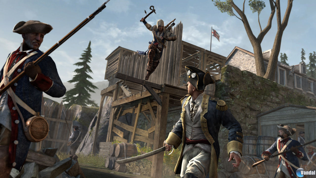 Assassin's Creed III estrena nuevo triler e imgenes en la Gamescom