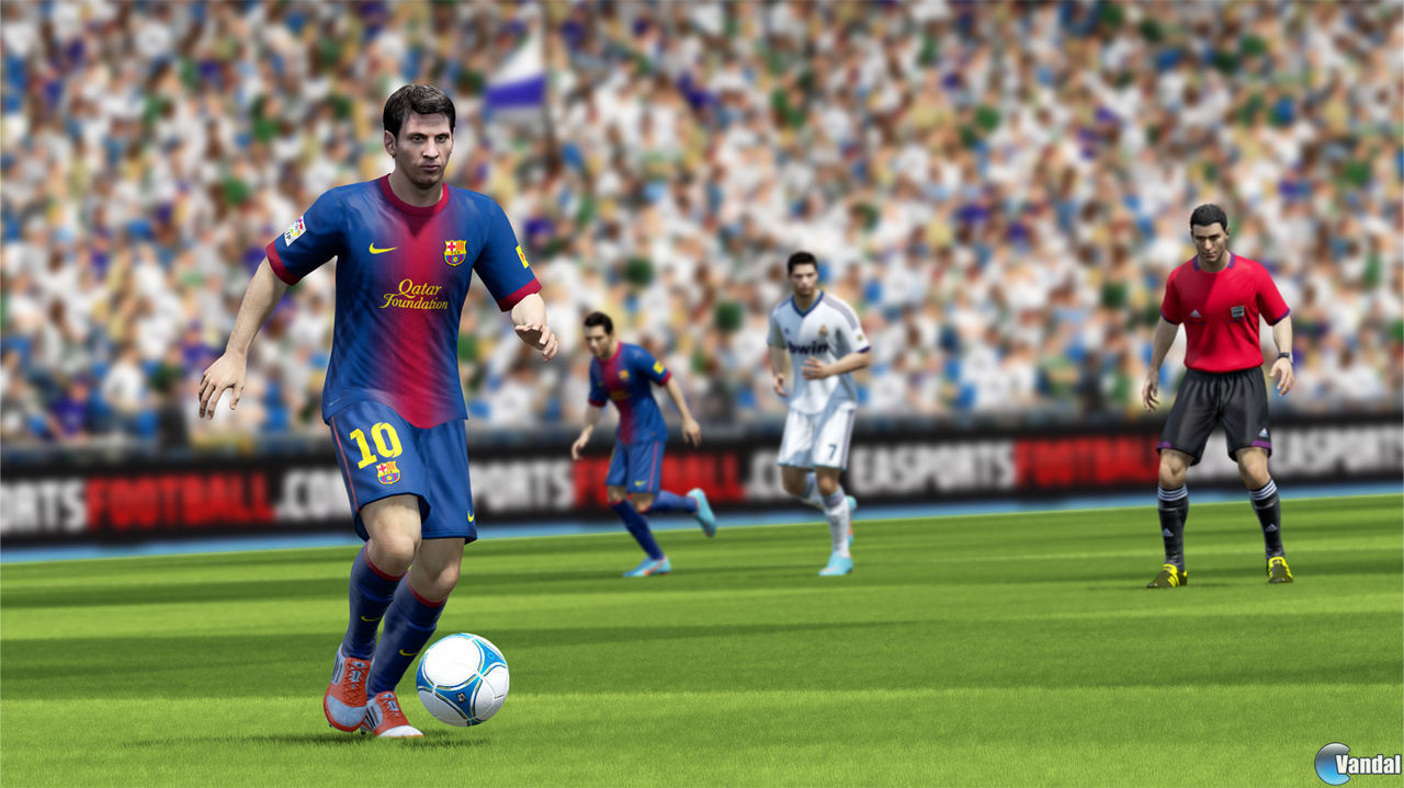 Nuevas imgenes de FIFA 13 para Wii U