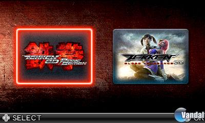 Más de un centenar de nuevas imágenes de Tekken 3D Prime