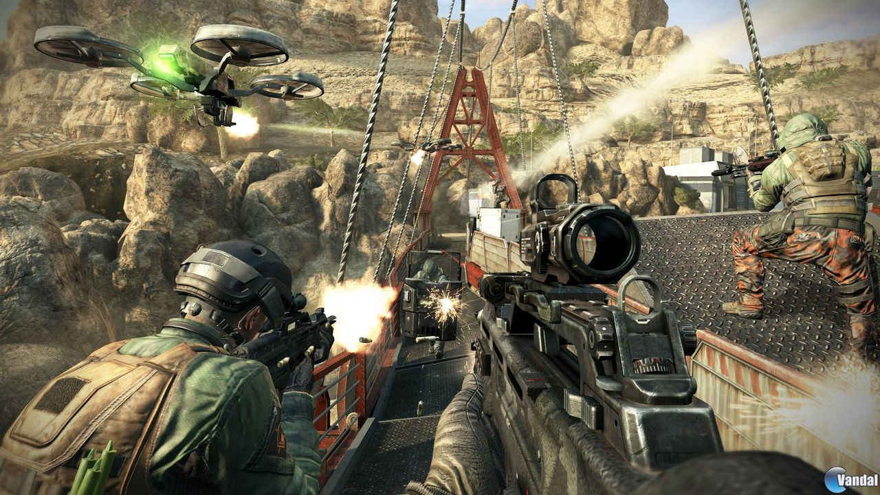 Nuevas imgenes del multijugador de Call of Duty: Black Ops II