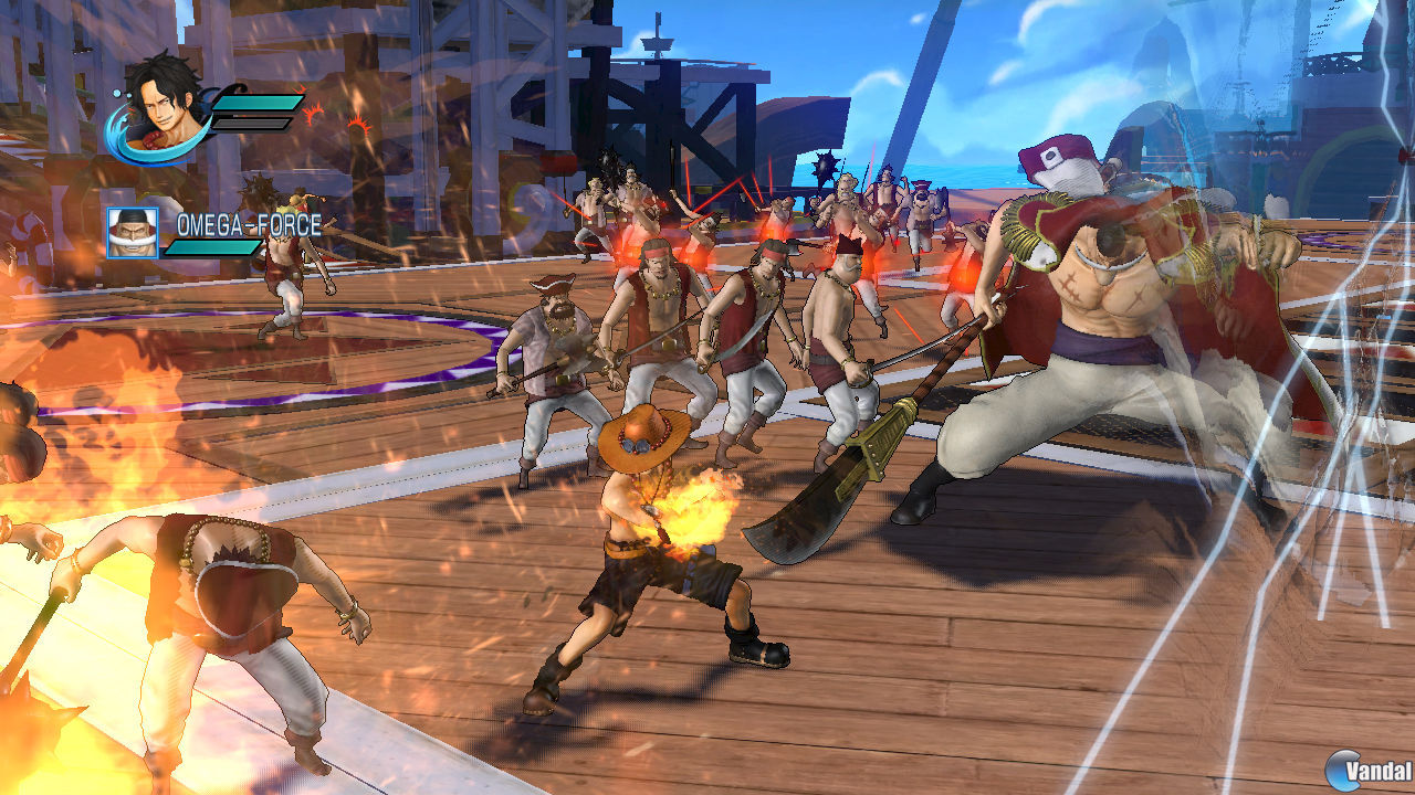 Nuevas imgenes e ilustraciones de One Piece: Pirate Warriors