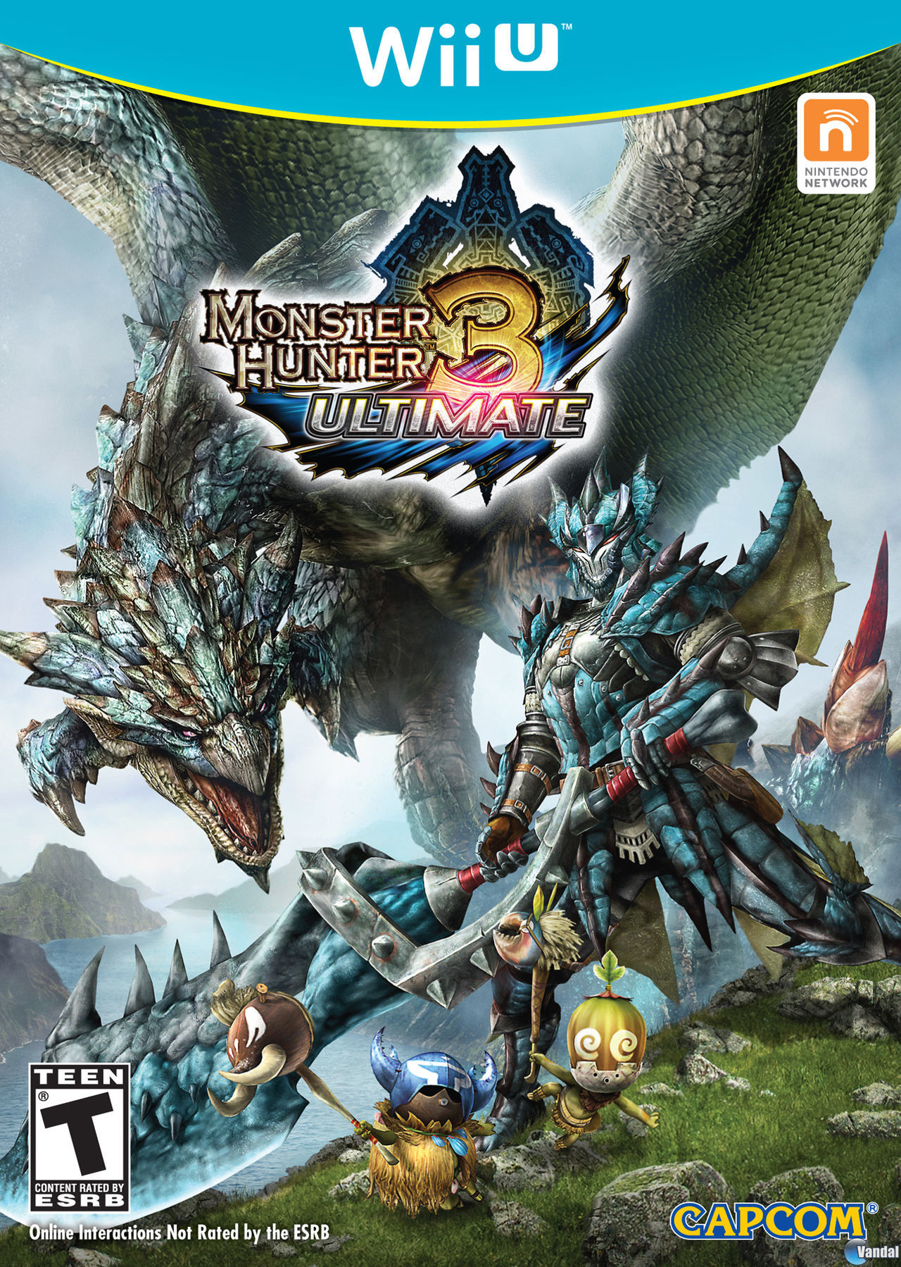 Desvelada la portada americana de Monster Hunter 3 Ultimate