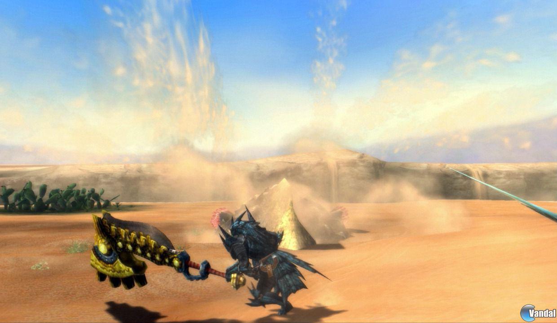 Caza a Nibelsnarf en las nuevas im�genes de Monster Hunter 3 Ultimate