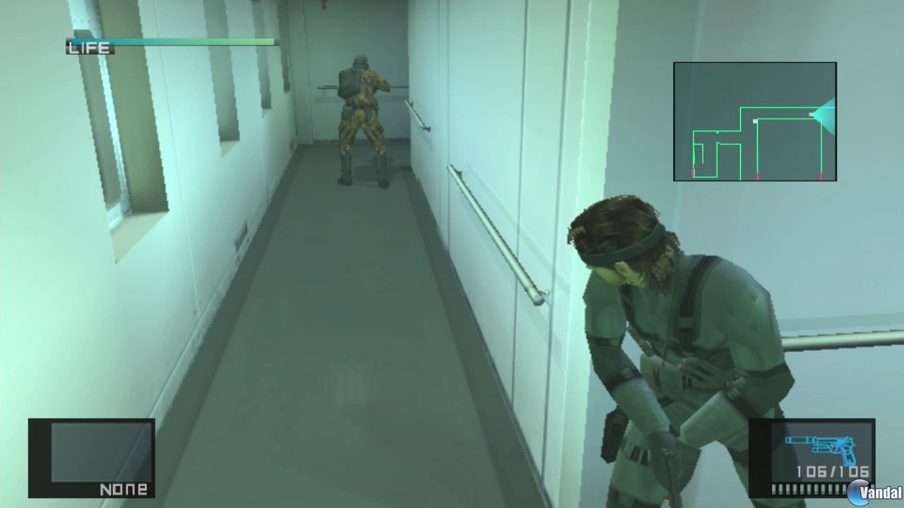 [Imágenes] Metal Gear Solid HD Collection
