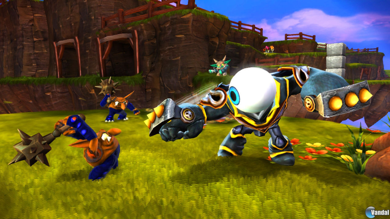 Skylanders Giants presenta nuevos personajes