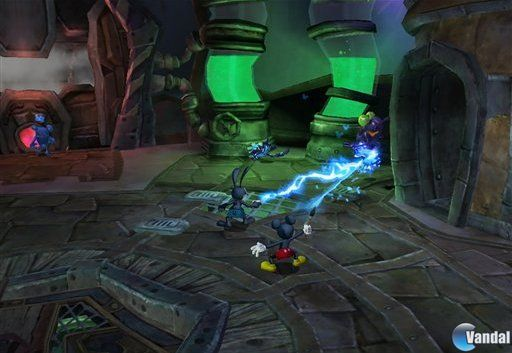Revelado Epic Mickey: Power of Illusion para 3DS 2012321165040_3
