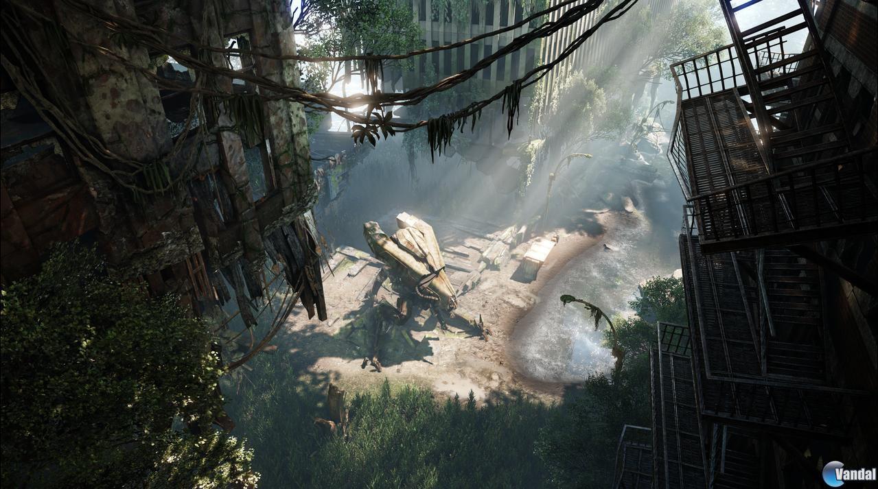 Crysis 3 anunciado oficialmente; primeras imágenes