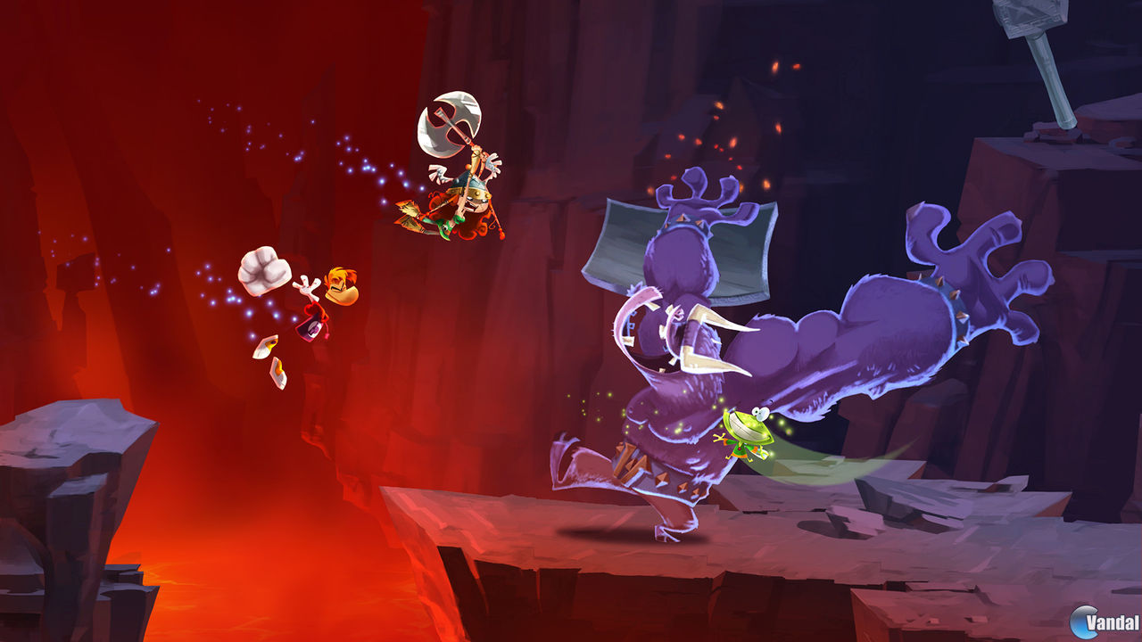 Rayman Legends se muestra en un nuevo triler e imgenes