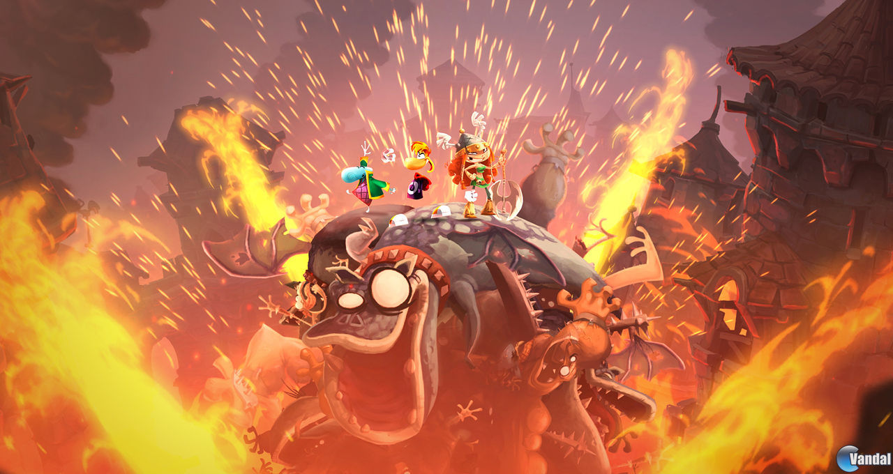 Rayman Legends nos ofrece nuevas imgenes