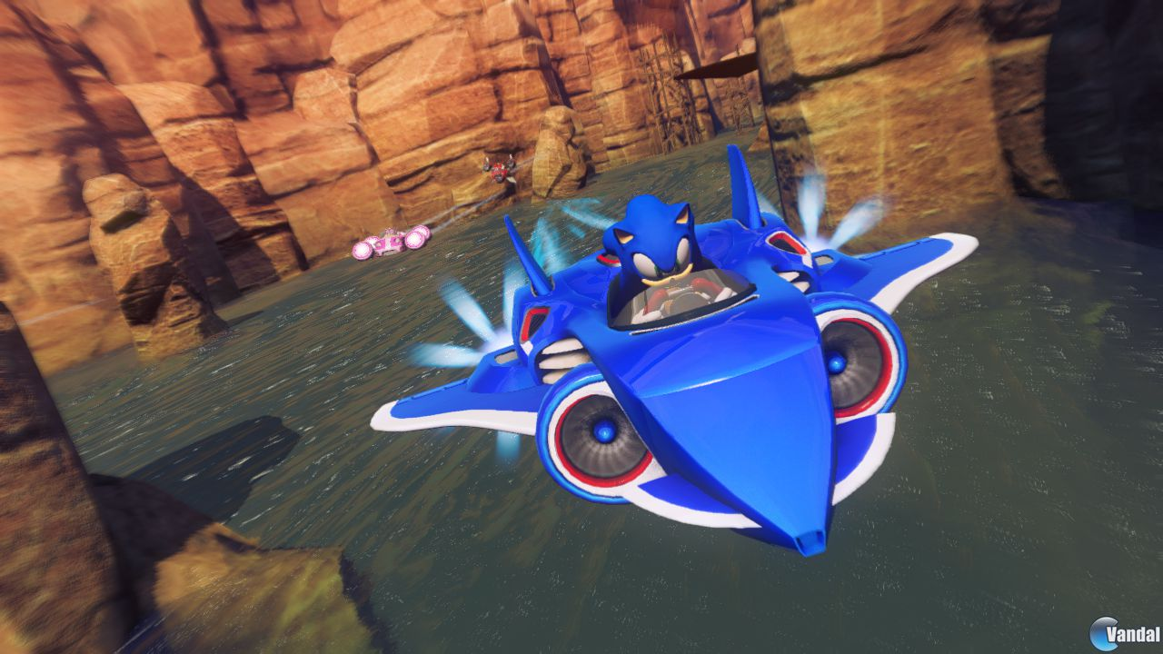 Primeras imágenes y vídeo de Sonic & All-Stars Racing Transformed