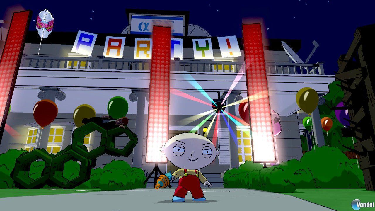 Nuevas im�genes de Family Guy: Back to the Multiverse