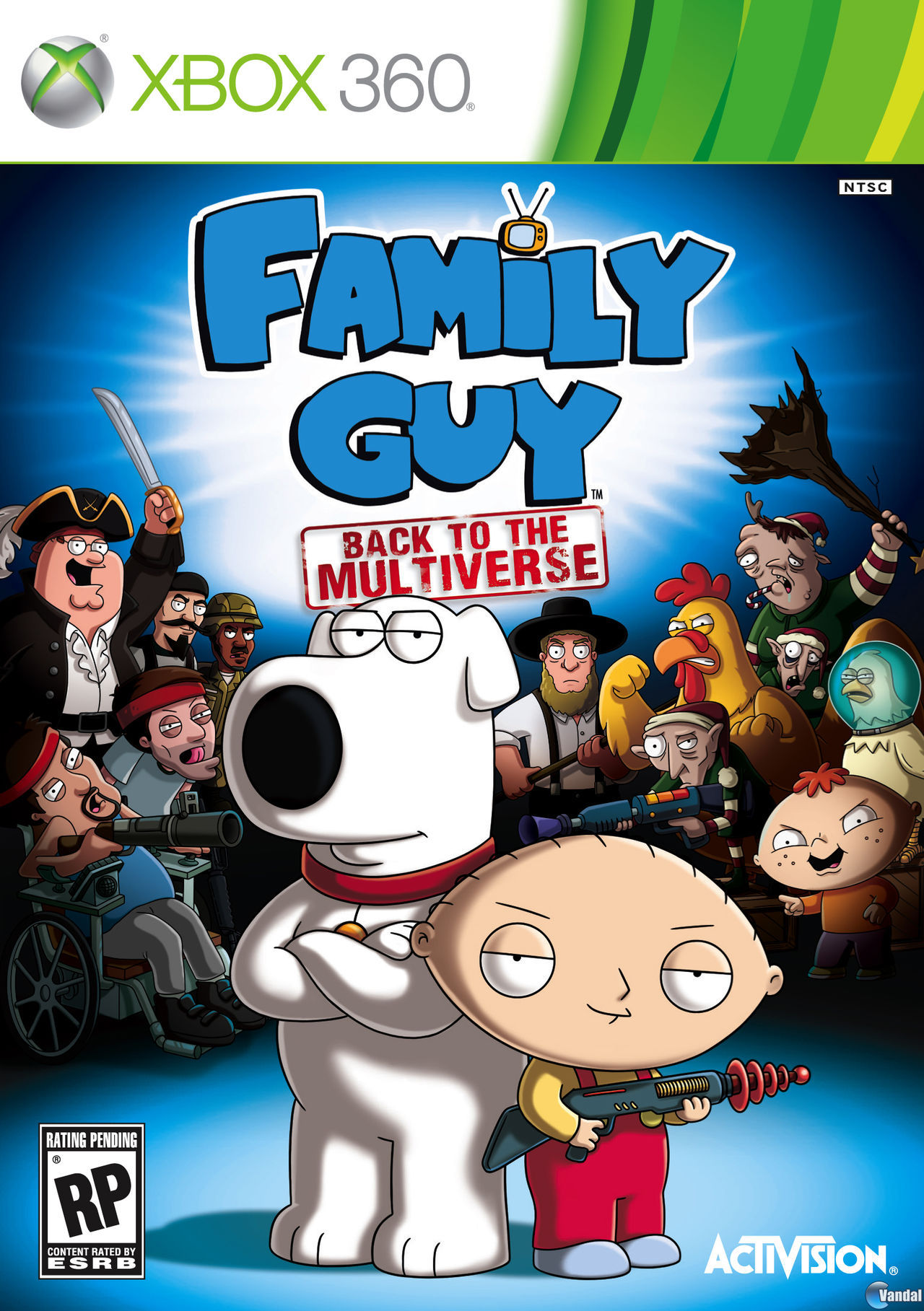 Portada y nuevas imgenes de Family Guy: Back to the Multiverse