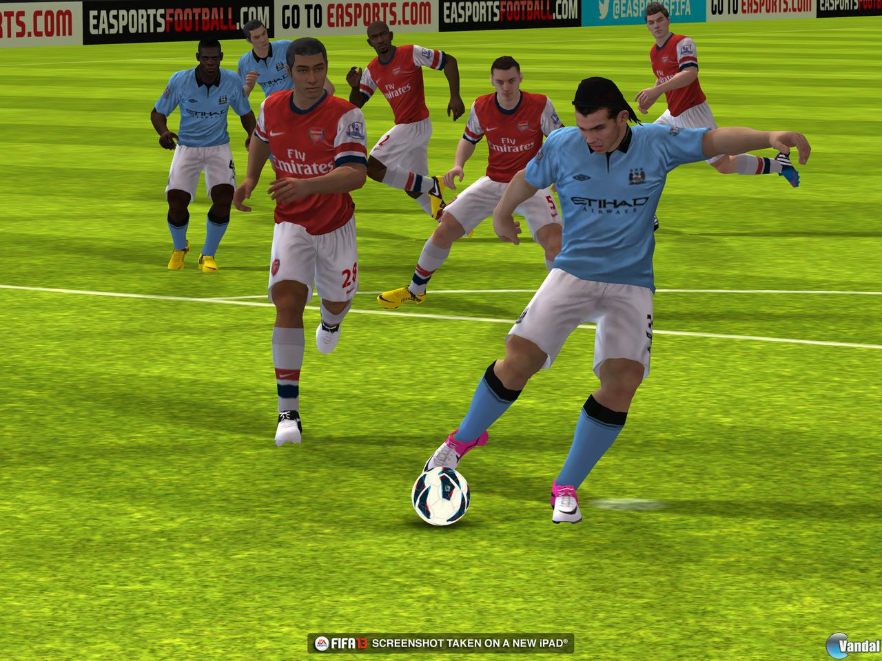 FIFA 13 se muestra en iOS