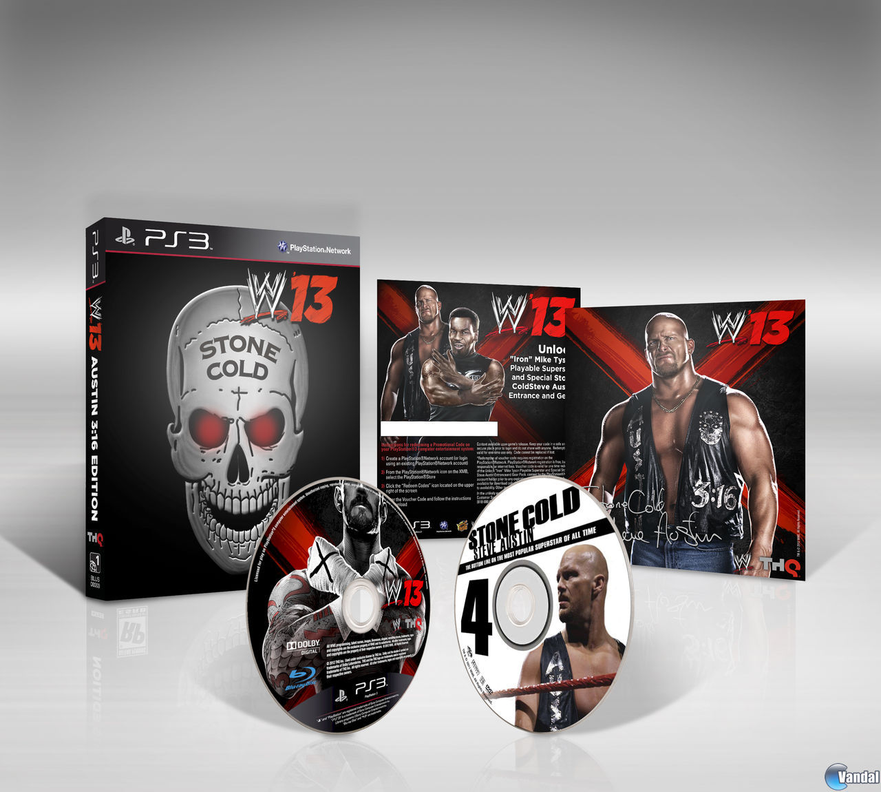Edicin exclusiva con Tyson para las reservas WWE 13