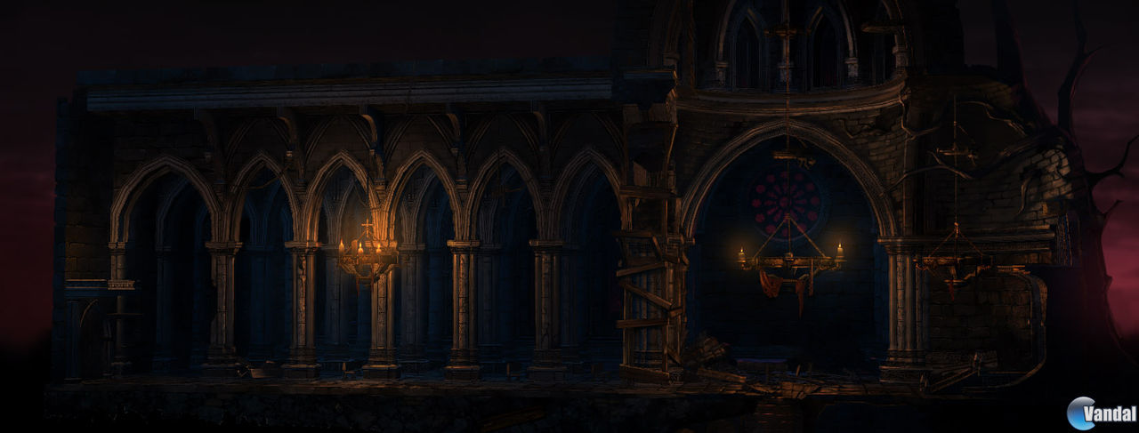Castlevania: Lords of Shadow - Mirror of Fate nos muestra nuevas imgenes e ilustraciones