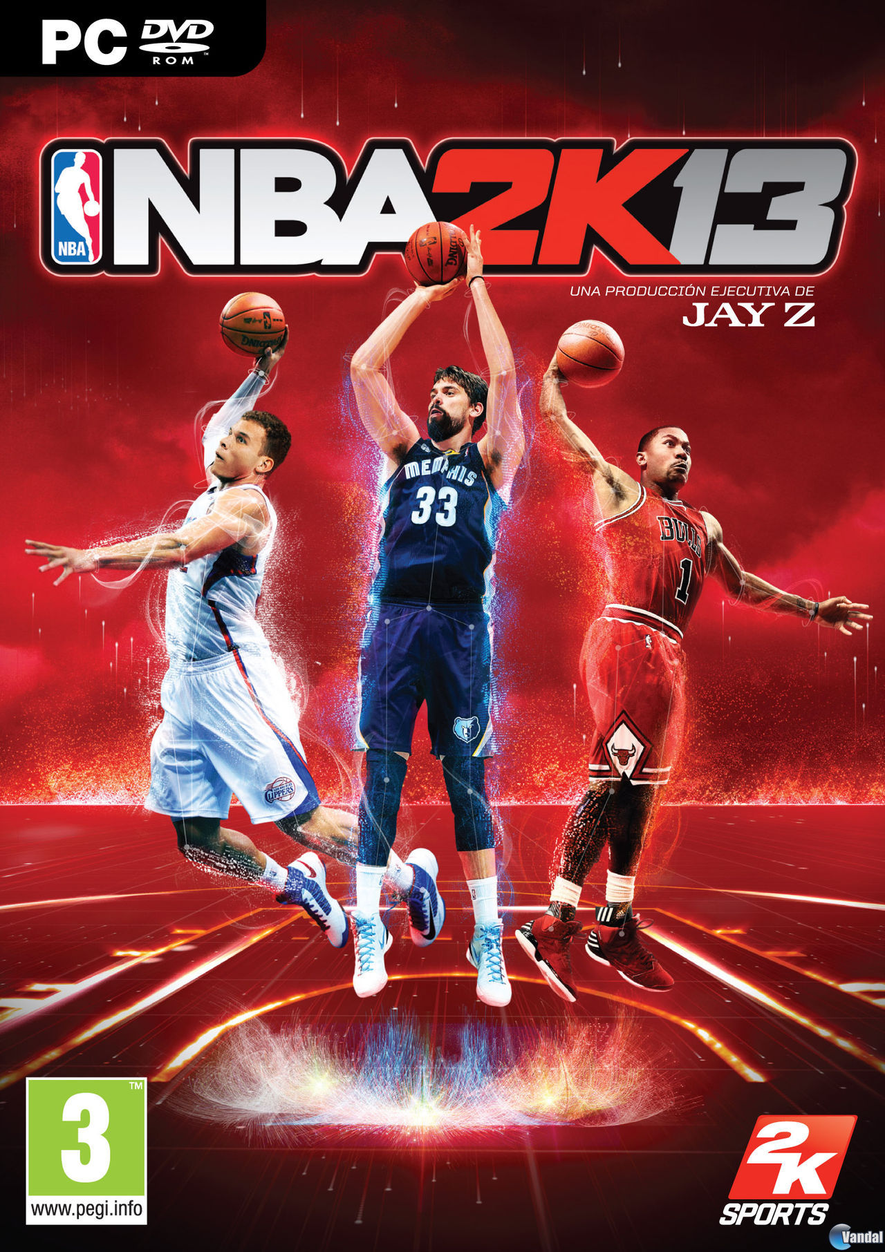 NBA 2K13 presenta a Marc Gasol protagonizando su portada