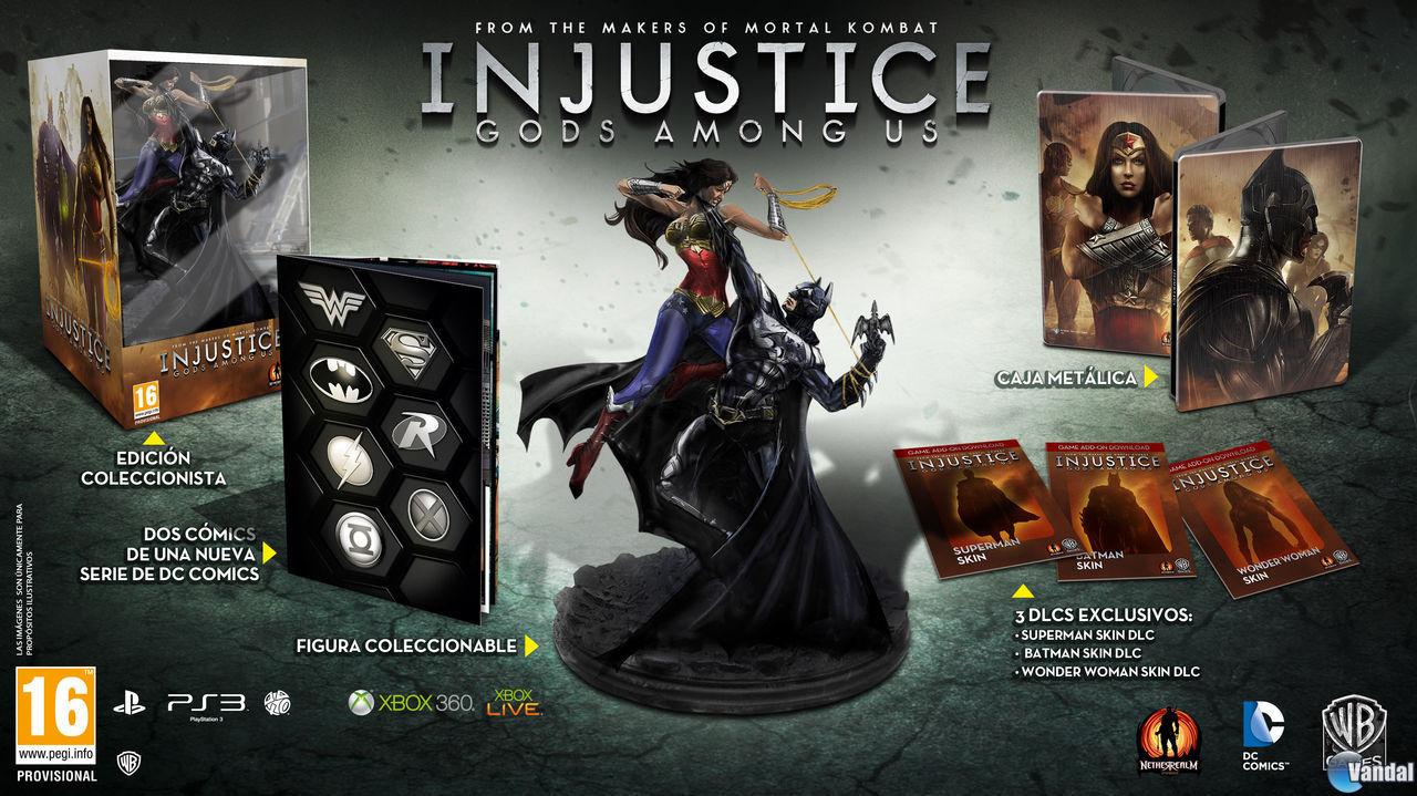 Injustice: Gods Among Us se pondr� a la venta e
