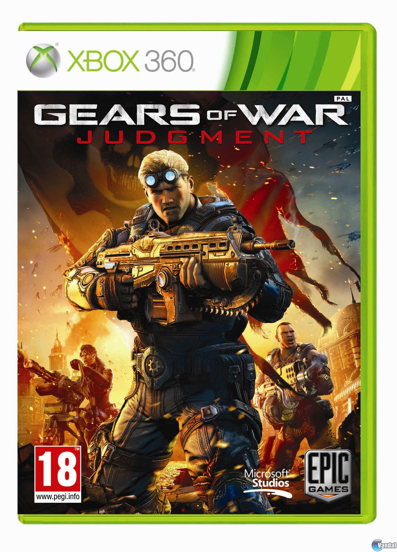 Mostrada la car�tula europea de Gears of War: Judgment