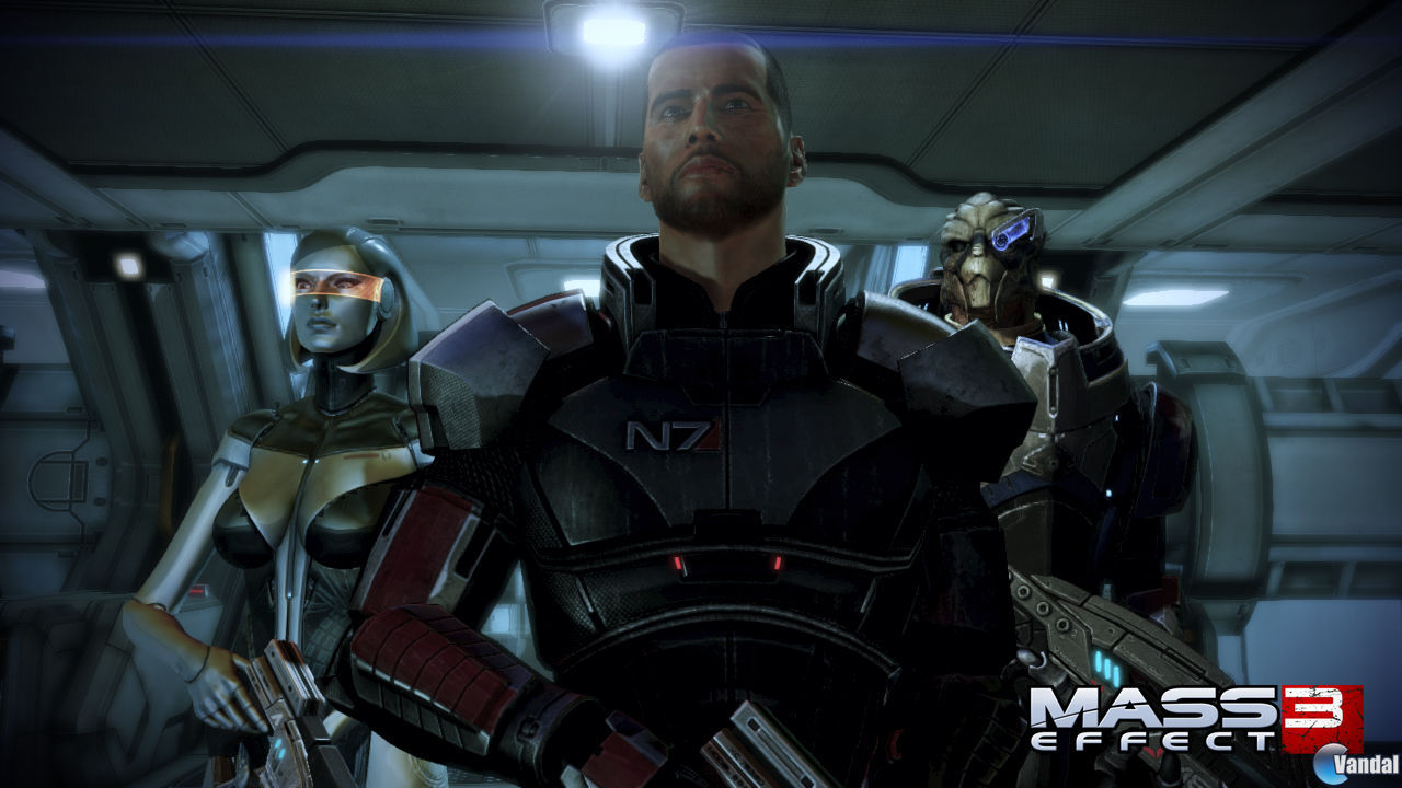Imgenes y nueva informacin para Mass Effect 3 en Wii U