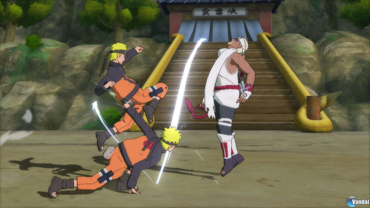 Los combates de Naruto Shippuden: Ultimate Ninja Storm 3 se muestran en vdeo e imgenes