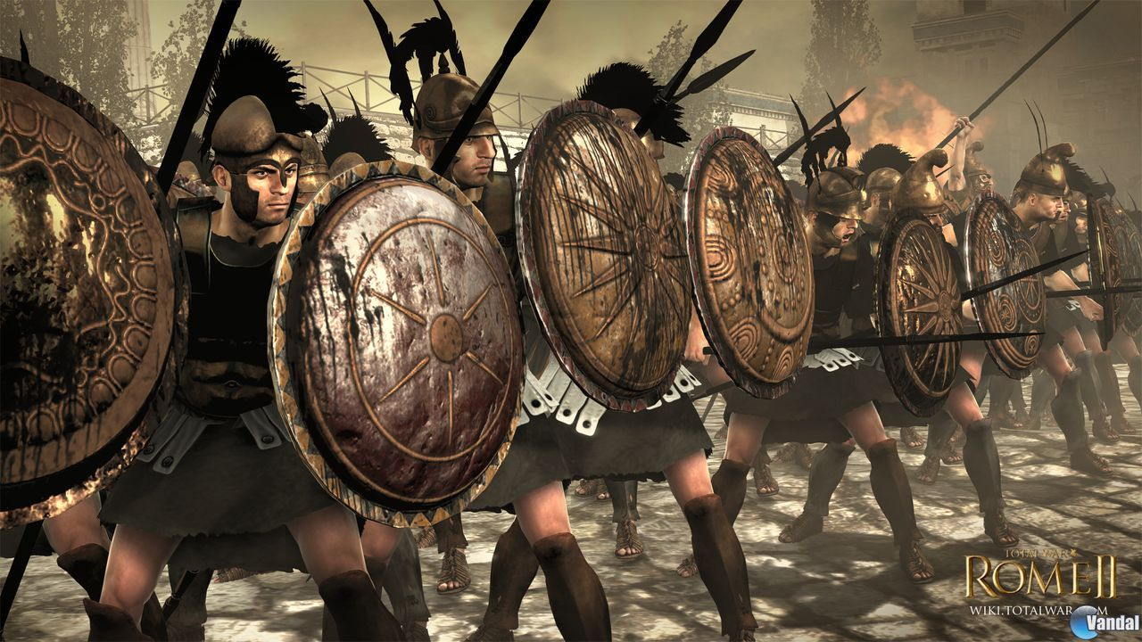 La faccin de Macedonia se presenta en Total War: Rome II