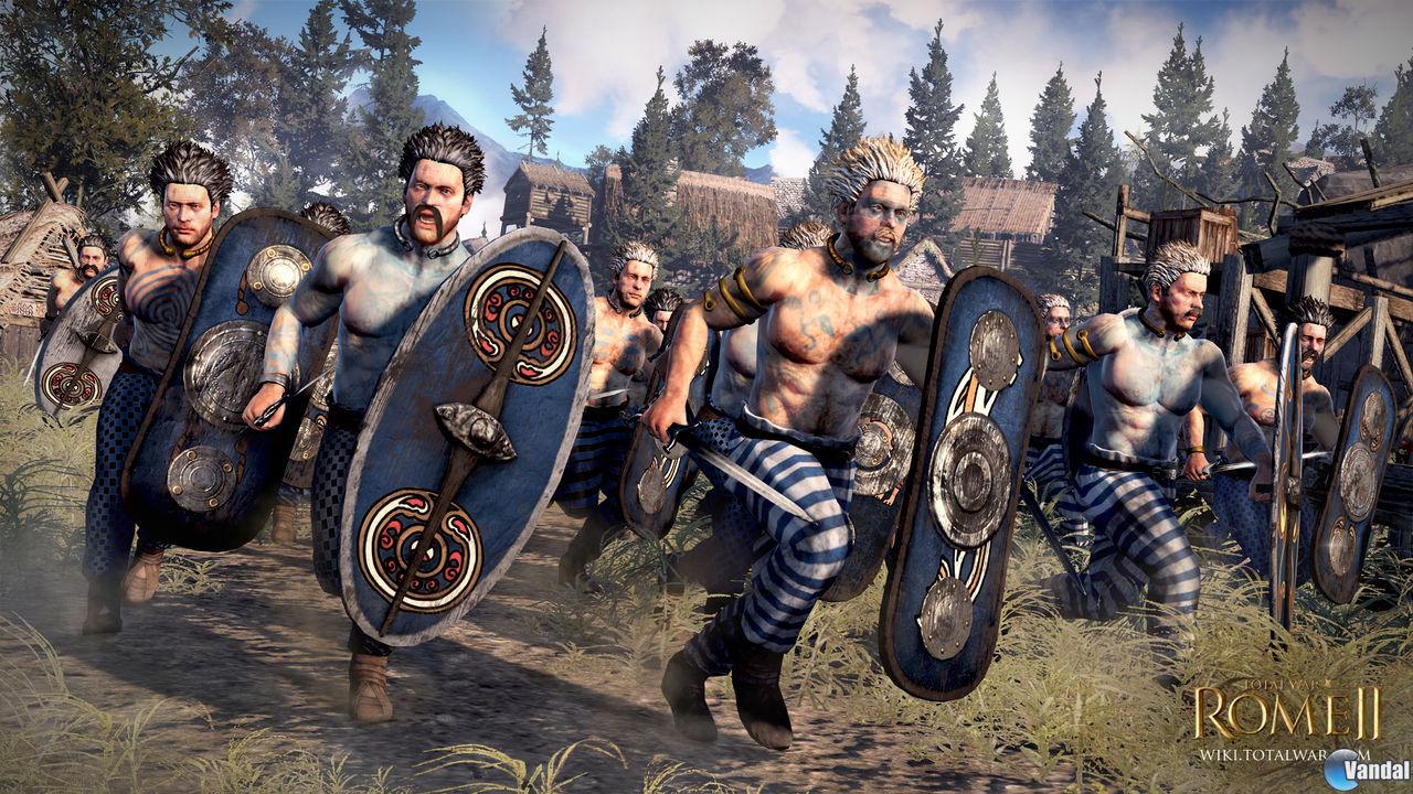 Los Icenos serán una de las facciones jugables de Total War: Rome II
