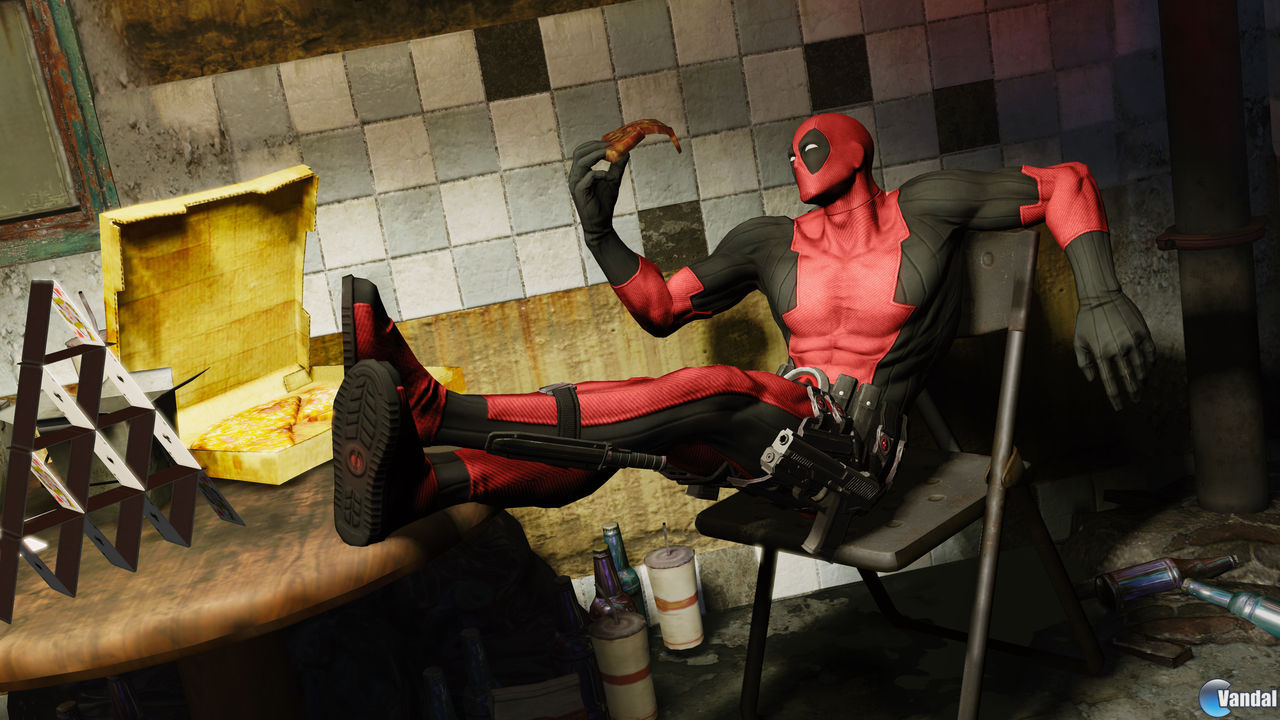 Nuevas pantallas de Deadpool